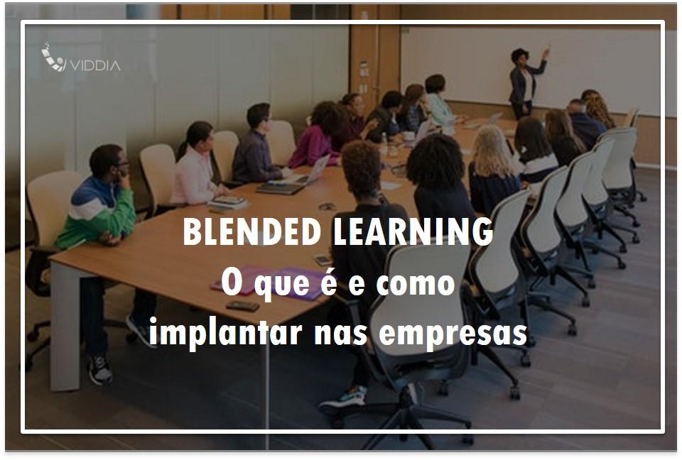 O que é blended learning e como implementá-lo na educação corporativa